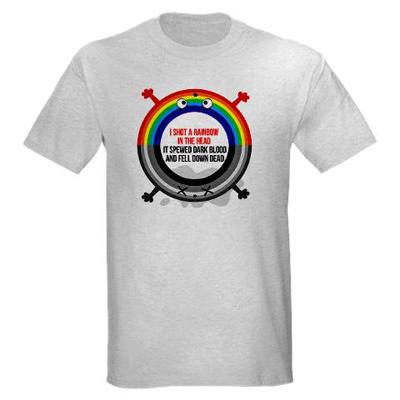 i shot a rainbow tshirt I shot a rainbow t shirt