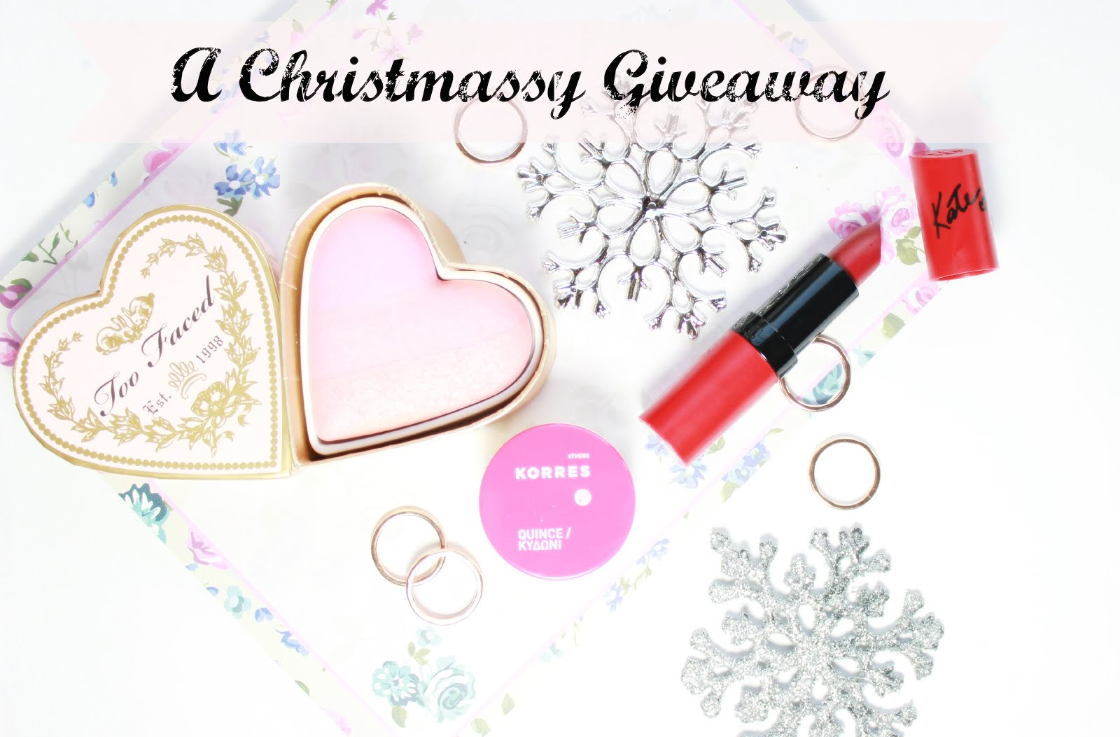Enter My Christmas Giveaway!