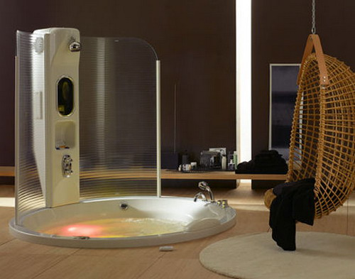 Enjoy Steam Shower And The Bathtub All At The Same Time Using Steam Shower Tu