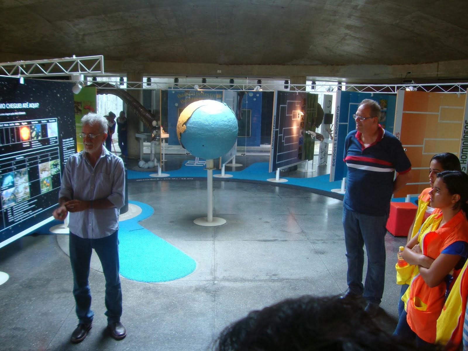Thomas e o Diretor do Espaço Ciência de Pernambuco - Brasil Sr. Antonio Carlos Pavão