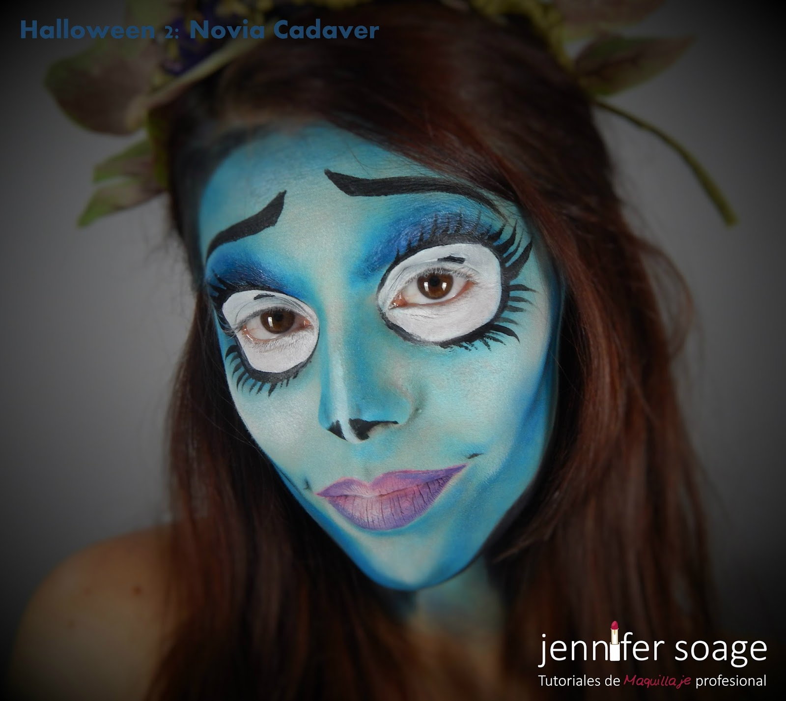 Maquillaje Halloween Novia Cadaver. Gallery Of Img With Maquillaje ...