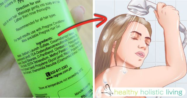 organic shampoo vs chemical shampoos