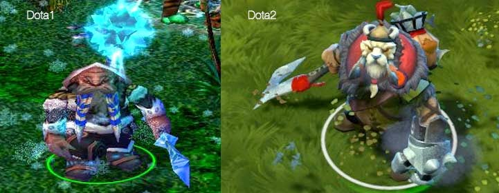 dota 1 vs dota 2 heroes comparison essay
