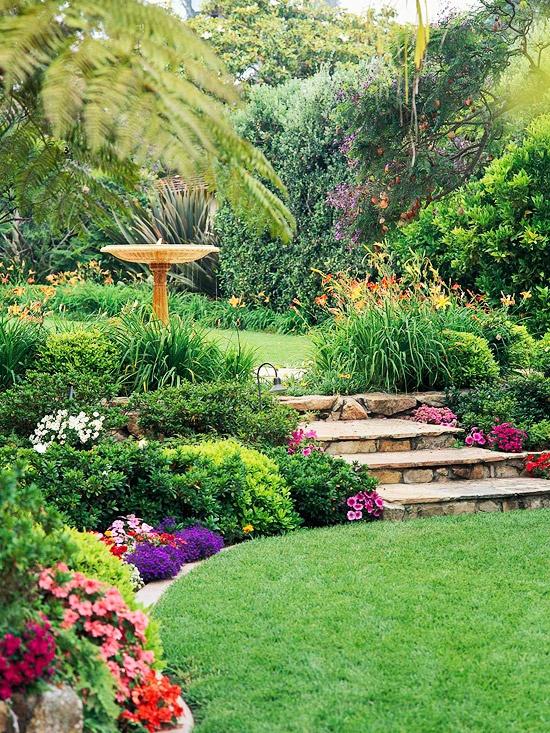 Fotos de jardines y plantas espectaculares jard n y terrazas for Jardines espectaculares