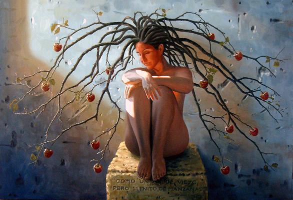 Amor que acuso y siento fugazmente: Como+un+arbol+viejo,+pero+llenito+de+manzanas