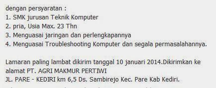 lowongan-pt-agri-makmur-pertiwi-januari-2014