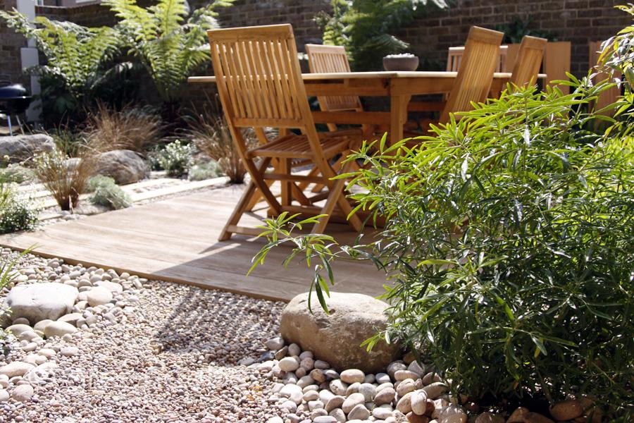Greencube garden and landscape design uk courtyard for Easy maintenance gardens