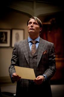 "Hannibal Series 1.Episode 01 ""Amuse Bouche""..Dr Hannibal Lecter (Mads Mikkelsen)"