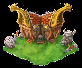 imagen del habitat vikingo de la isla vikingo de dragon city