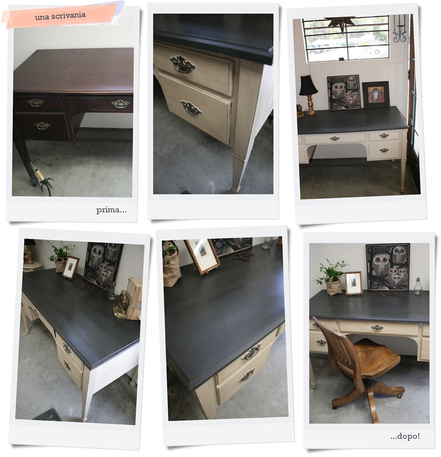 Nuova vita ai mobili shabby chic interiors for Mobili vecchi regalo