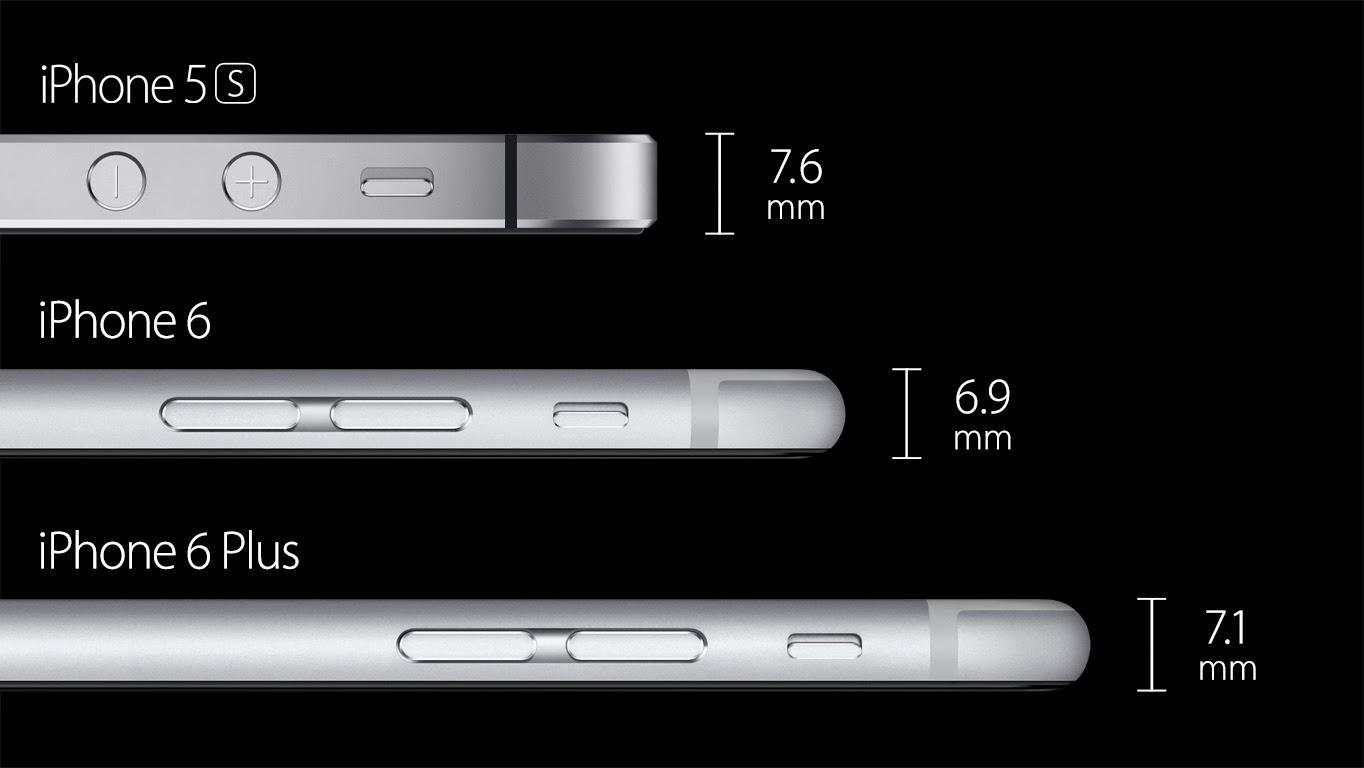 مواصفات iPhone 6 و iPhone 6 plus