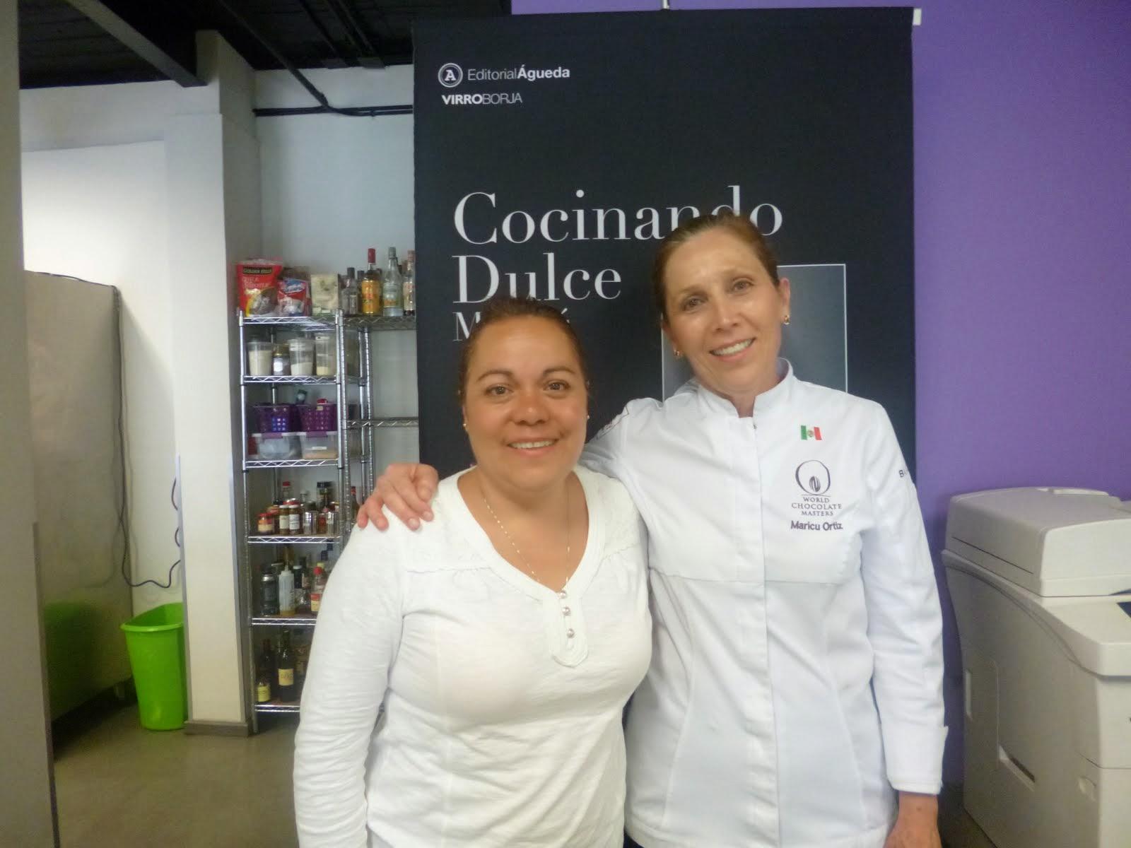 Con la chef Maricú Ortíz
