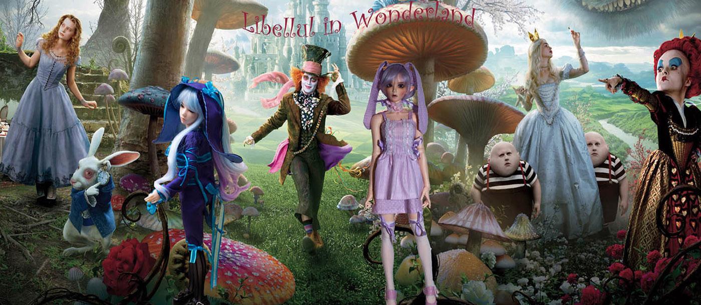 Libellul in Wonderland
