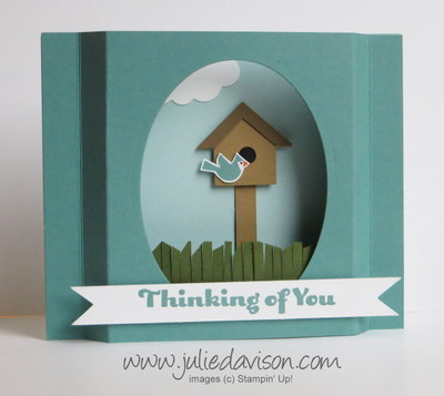 http://juliedavison.blogspot.com/2014/09/video-bird-house-punch-art-diorama-card.html