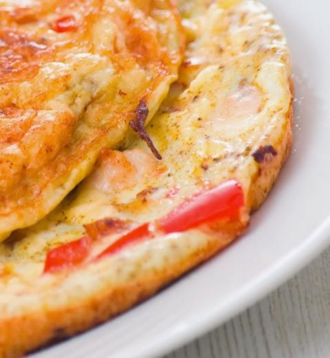 omlett juustuga