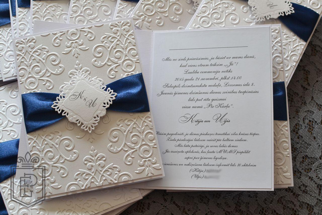 Приглашения своими руками на зимнюю свадьбу 3