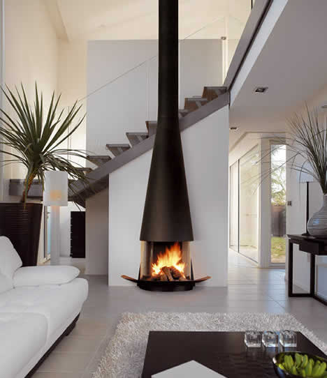 Fireplaces wood fireplace luxury lifestyle design for Luxury fireplace designs
