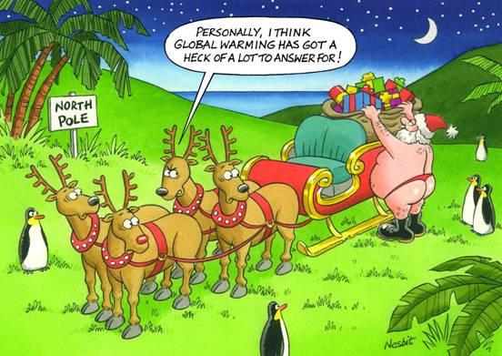 The Lighter Side of Christmas - By Nesbit