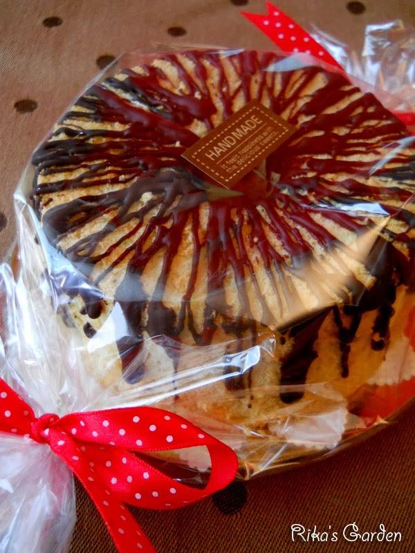 mini chiffon cake per san valentino♪