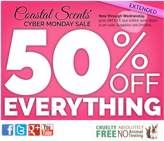 Coastal scents coupon code