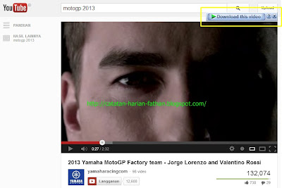 Cara Mendownload Video full di YOUTOBE lengkap