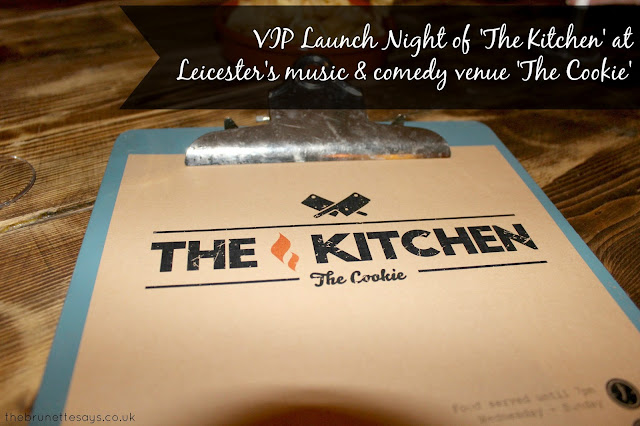 launch night, the kitchen, the cookie, Leicester