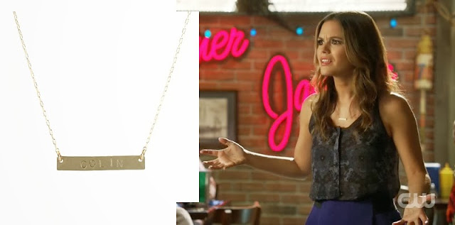 Rachel Bilson Bar Necklace Hart of Dixie