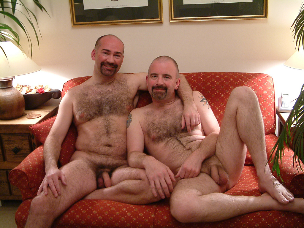 Hairy gay bear couples