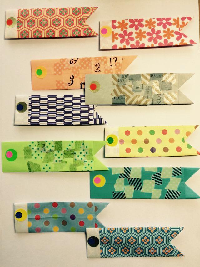 創作折り紙 kamikey : こいのぼり ... : 箱 折り紙 長方形 : 折り紙