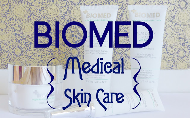 J'ai testé BIOMED Organics, Medical Skin Care [+Concours]