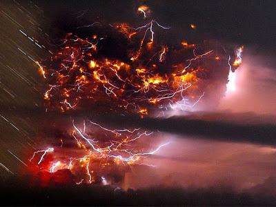 imagenes impactantes de la erupcion del volcan chileno puyehue