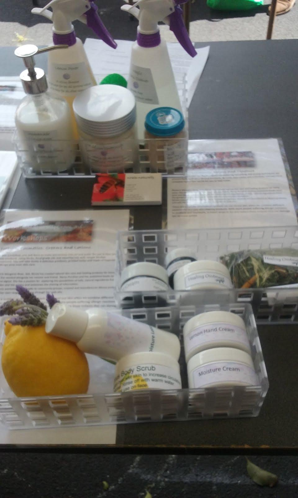 Natural Cosmetics: Creams & Lotions