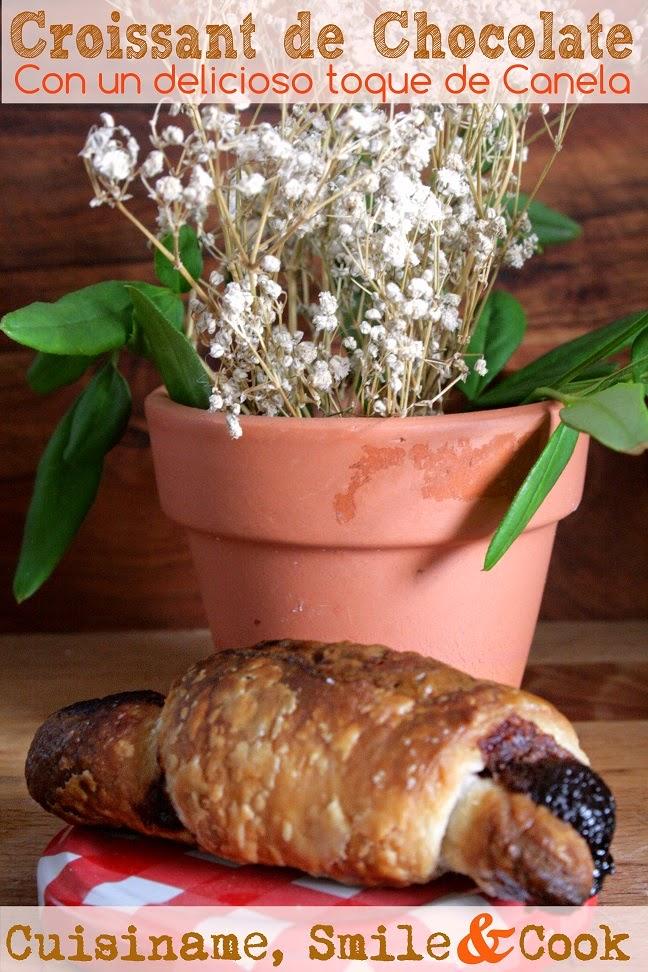 croissant, dulces y postres, croissant de chocolate, croissant receta fácil, chocolate, recetas fáciles, recetas de cocina, yummy recipes, recetas originales, recipes, blog cocina, cuisiname