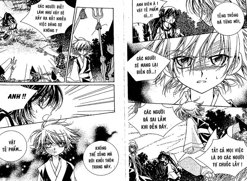 LEGEND - Truyền thuyết Fushigi Chapter 2 - Trang 23