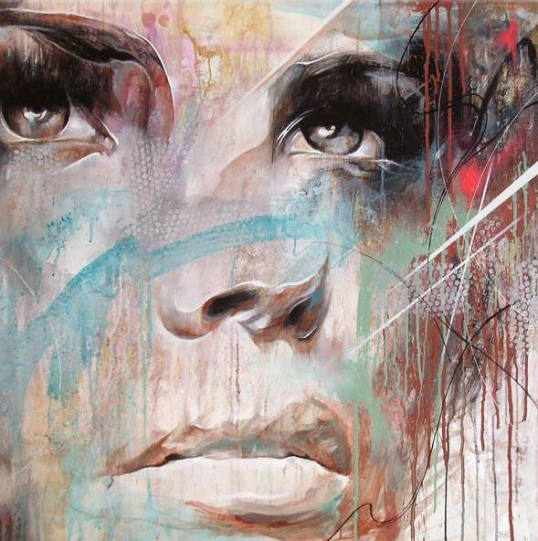 Abstract Portrait Paintings