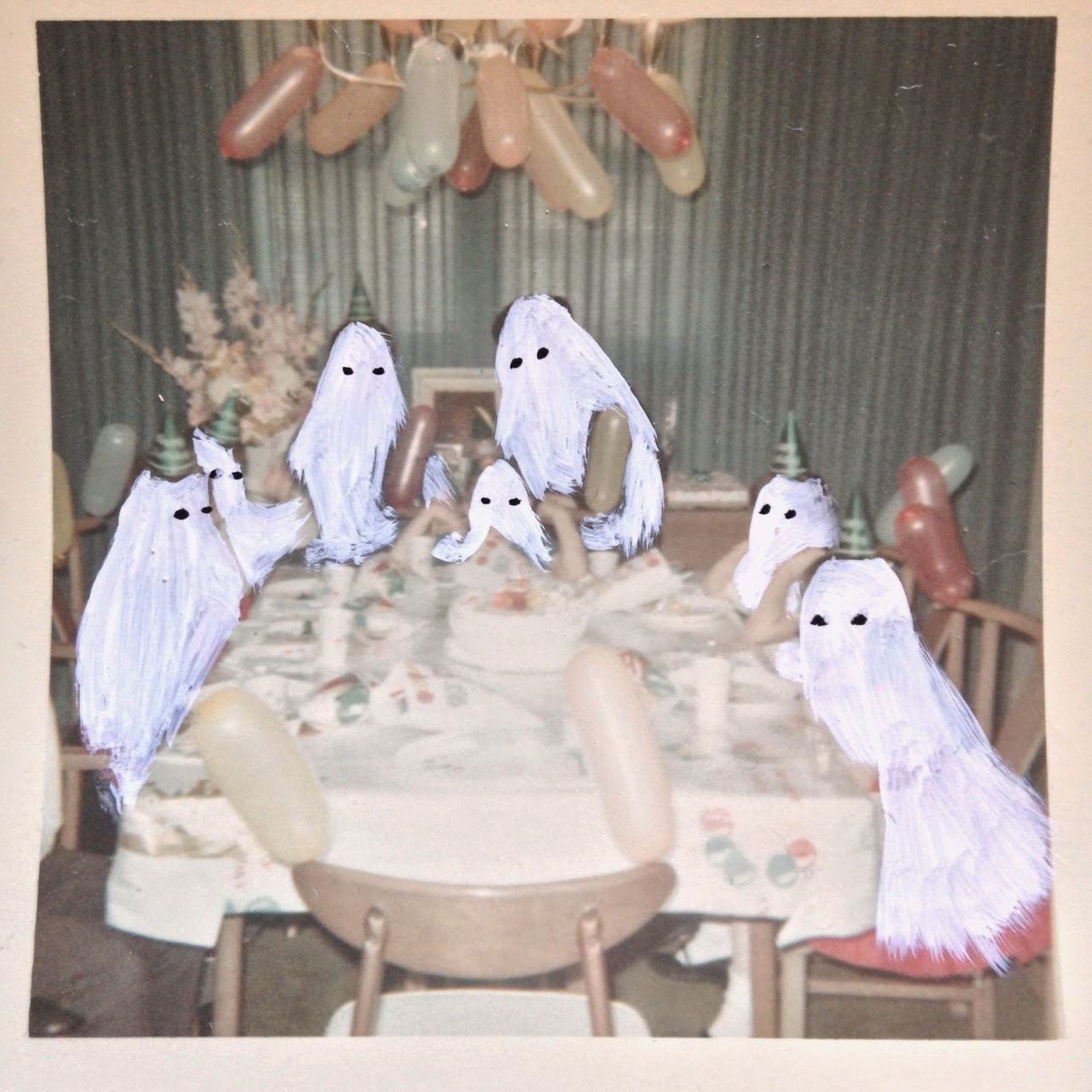 vintage ghost picture