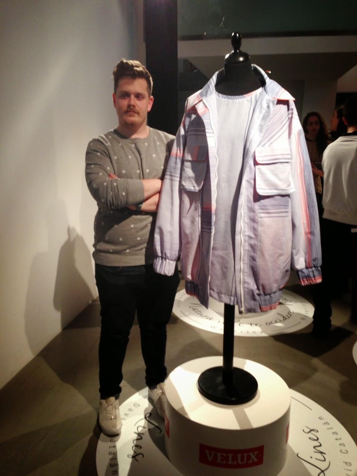 David Catalán con su diseño masculino para Velux