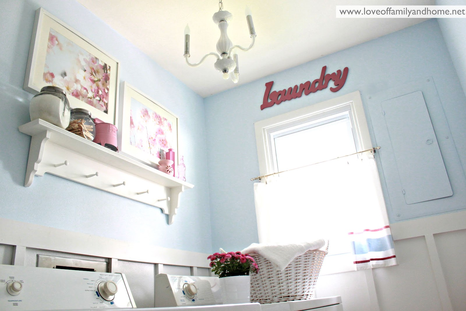 Laundry Room Reveal - Love of Family & Home