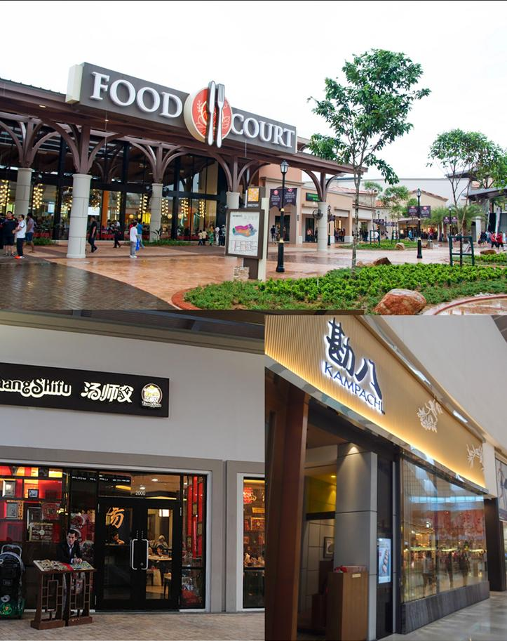 Johor Premium Outlets - eating