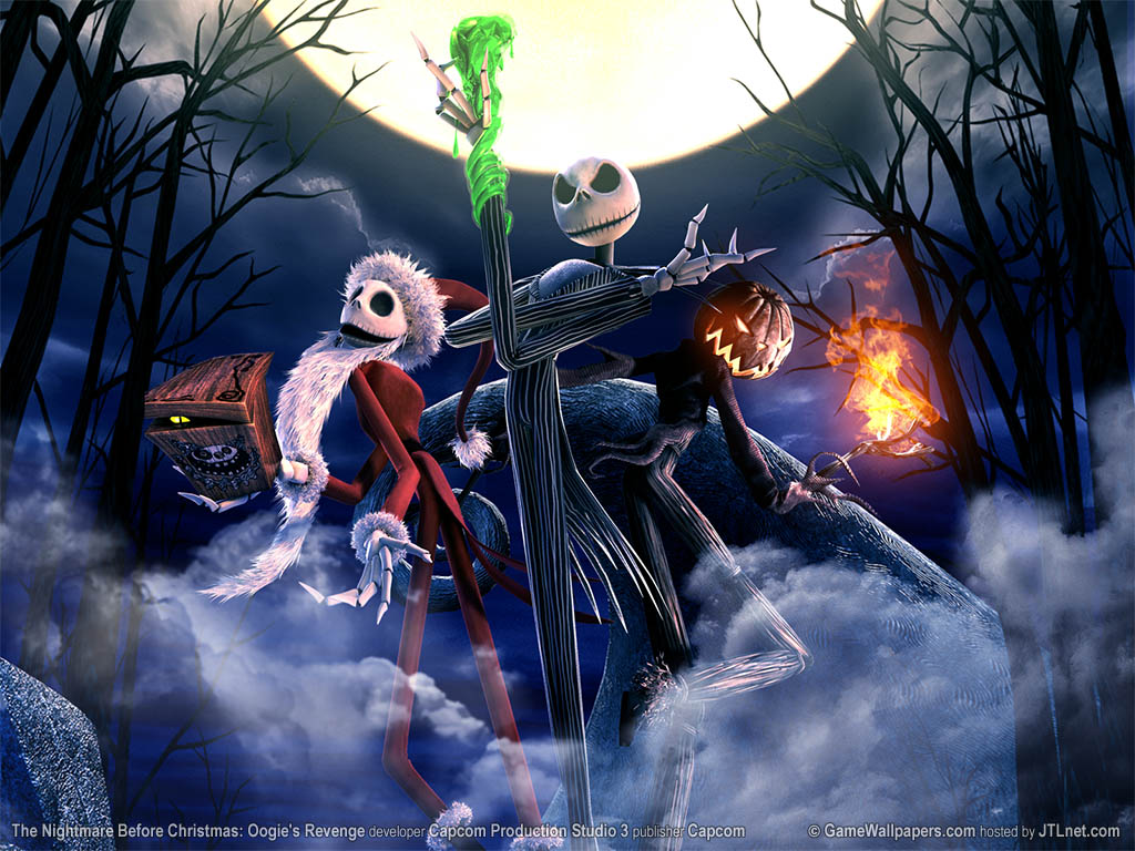 Nightmare Before Christmas Wallpaper | X-Mas