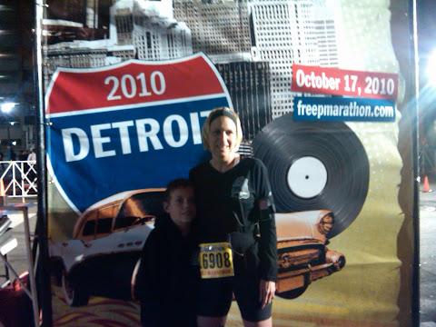 Detroit Half Marathon 2010