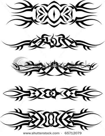 armband tribal motive tattoovorlagen armband tribal tattoovorlagen