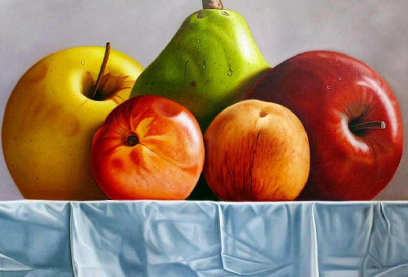 Bodegones faciles de frutas - Imagui