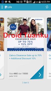 Cara Mengambil Hadia di Samsung Gift Indonesia