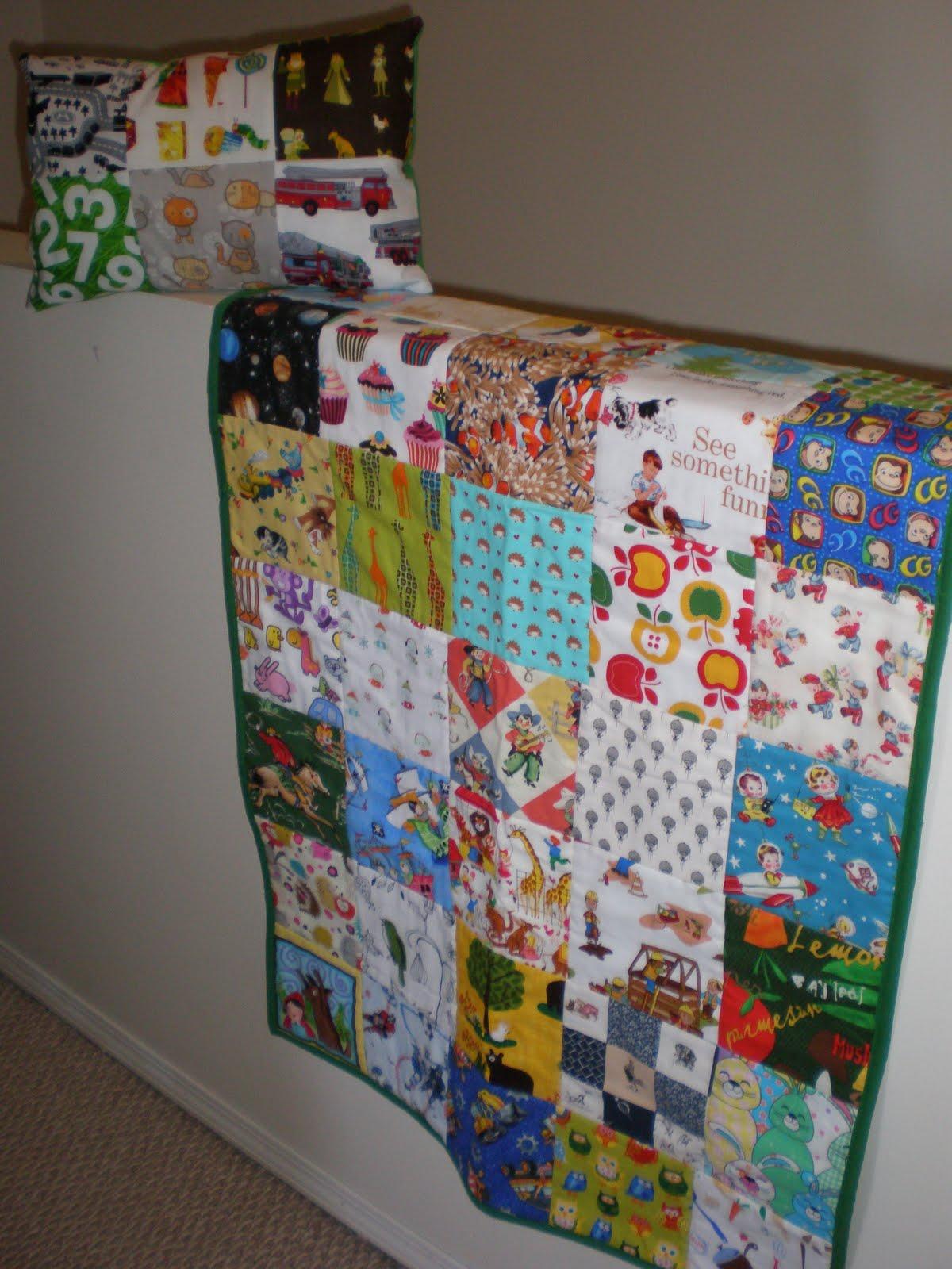 Tutorials Crafts Projects Kids Children Handmade I Spy Quilt Or