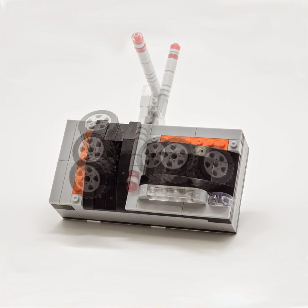 ナノブロックプラスで作った なんでもコントローラー
