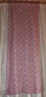 TE KOOP: schitterende zacht roze Haapsalu shawl.