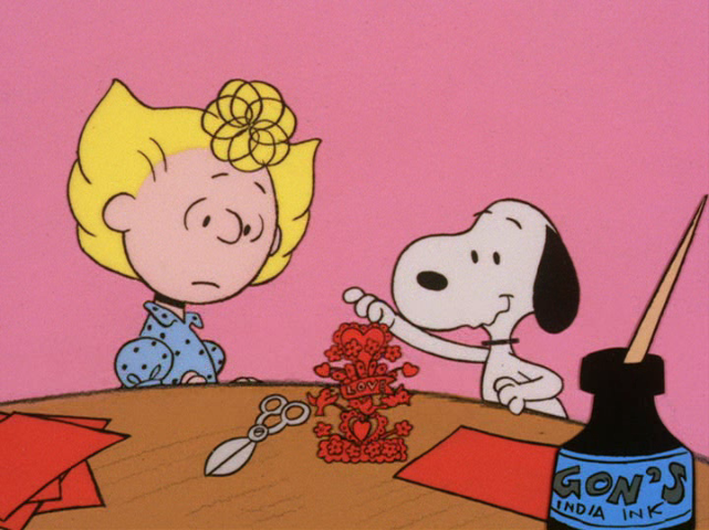 The Old And New Double Feature Of Be My Valentine, Charlie Brown (1975) And  A Charlie Brown Valentine (2002) Will Be Shown On ABC On Friday, February  12, ...