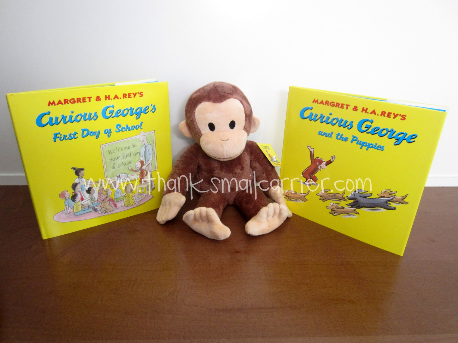 Curious George at Kohl's