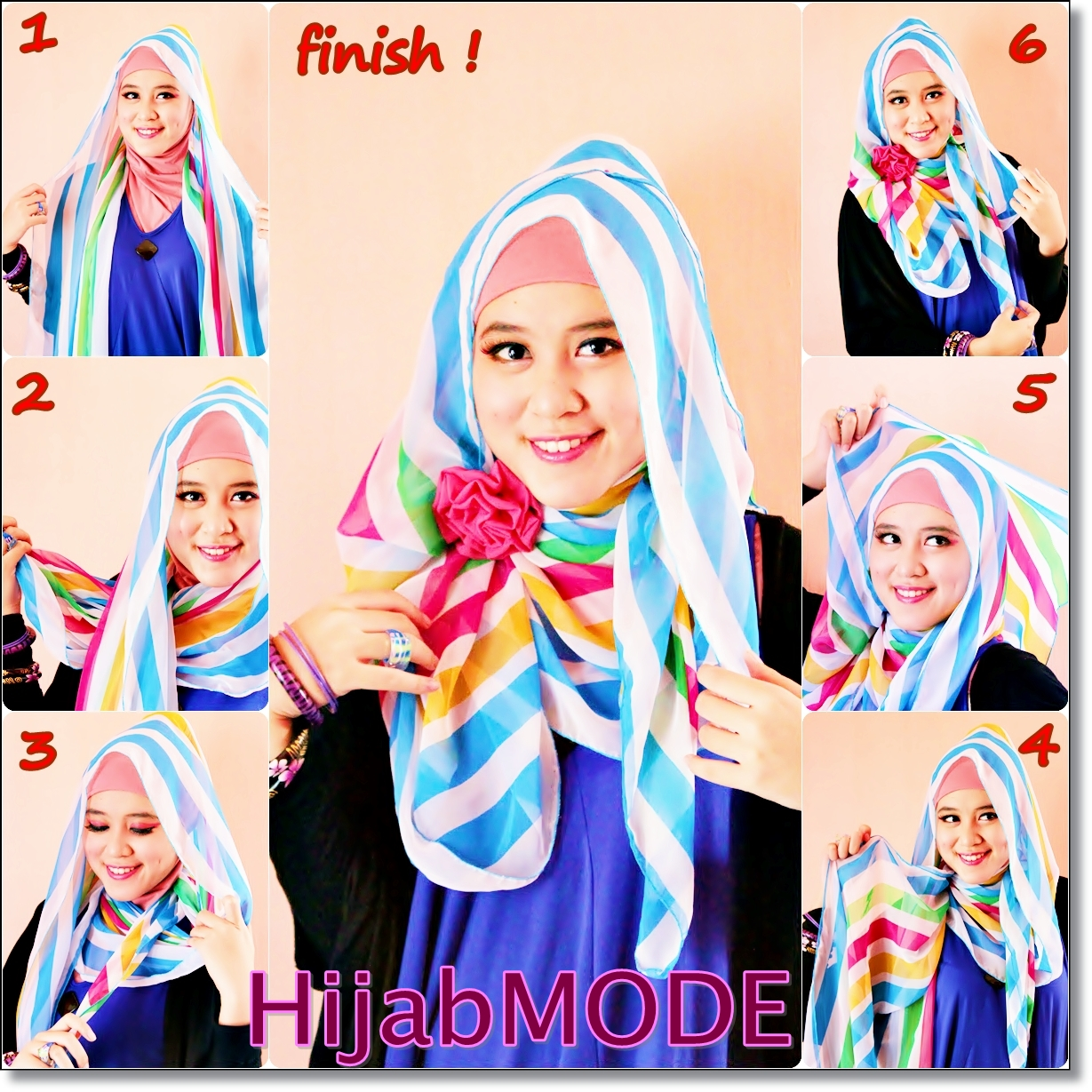 Hijab Mode TUTORIAL HIJAB PASHMINA